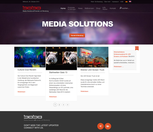 homepage bobo media solutions